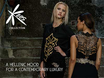 Cover Section Keos Collection by Aurora Caruso