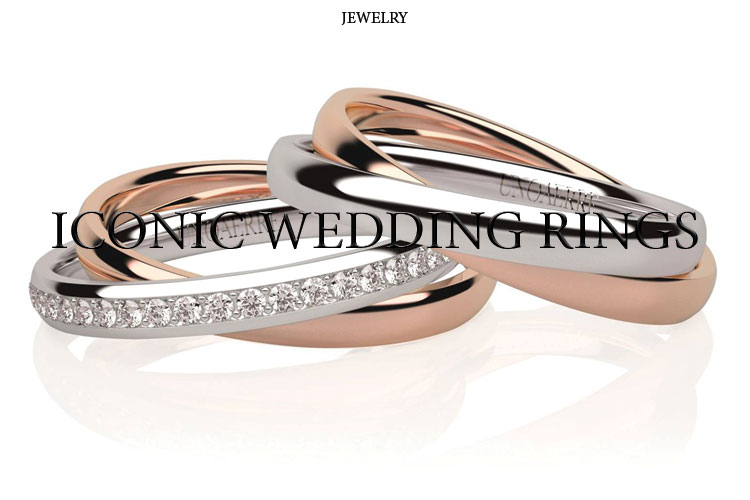 Iconic wedding rings