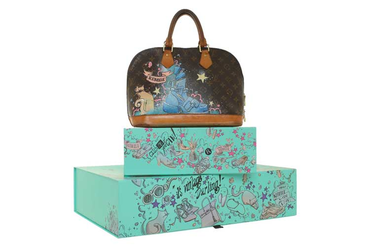 Art to go by Rebelle e Louis Vuitton 30ag18 1