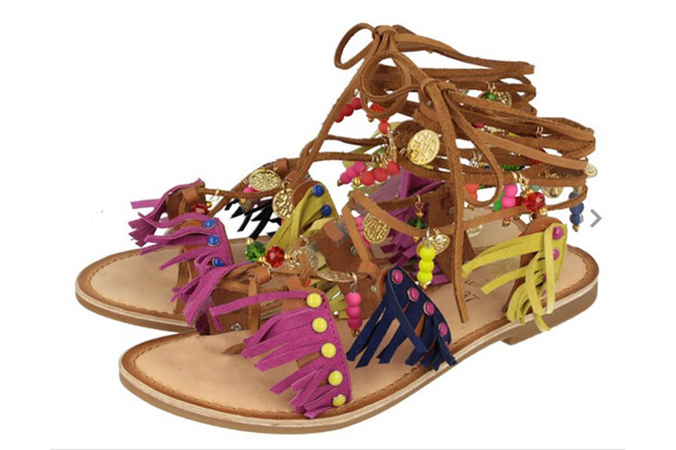 Flat shoes e zeppe multicolor by GIOSEPPO 20lug16 3