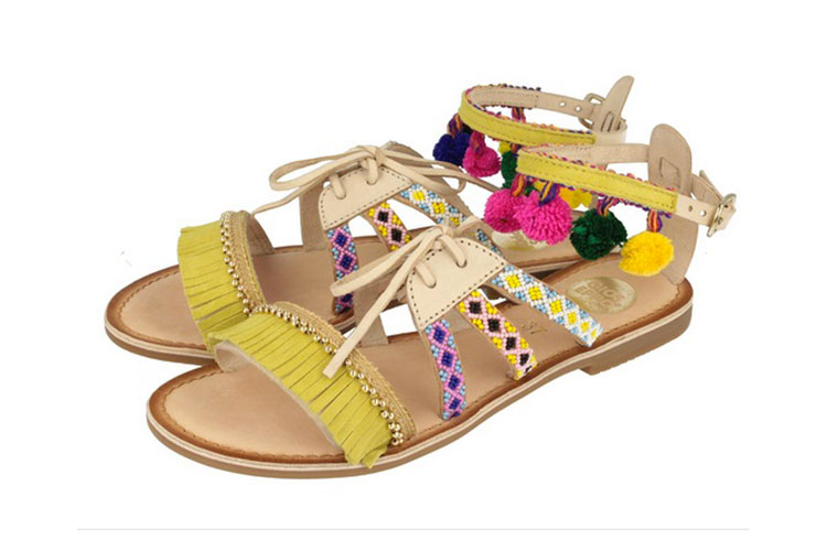 Flat shoes e zeppe multicolor by GIOSEPPO 20lug16 5