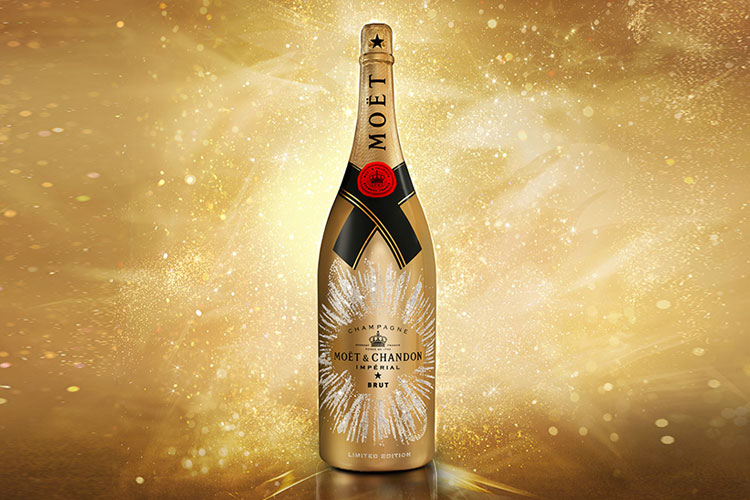 Golden Sparkle by Moet Chandon 31 1 17 1
