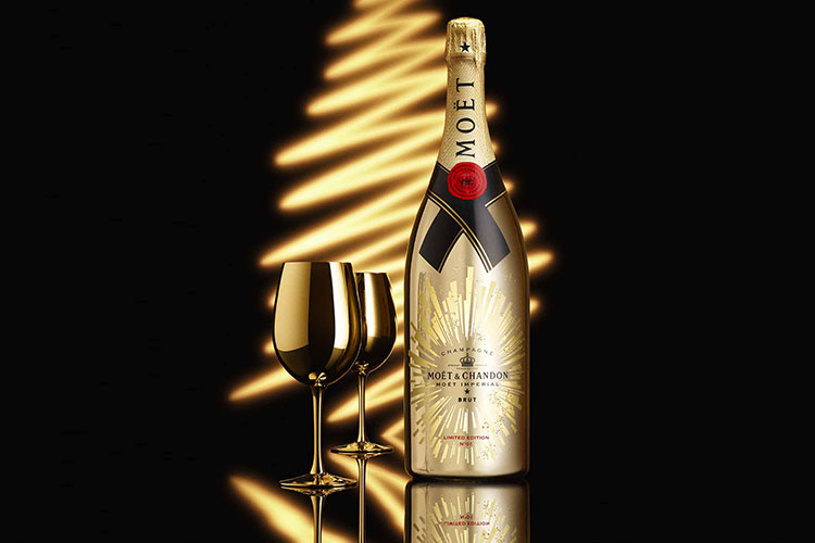 Golden Sparkle by Moet Chandon 31 1 17 2