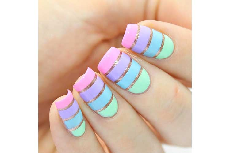 Nail art on the beach 24lug18 5